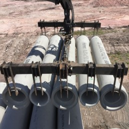 Precision Pipe Lifter 5 pipes